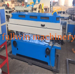 High speed 25m/min pvc single wall corrugated pipe machine with automatic wire device
