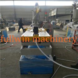 High quality PE PP PVC single wall corrugated pipe machine