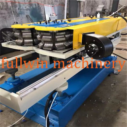 QNGDAO FULLWIN PVC HDPE Single wall Corrugated Pipe machine with extrusion line