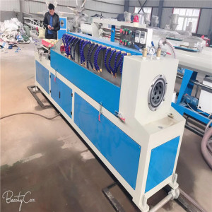 Hot sale plastic HDPE carbon sprial flexible corrugated conduit pipe making machine