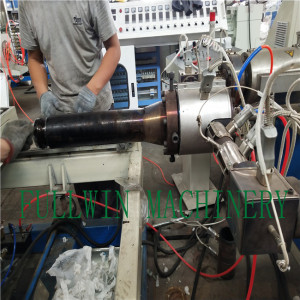 pp Double Wall Corrugated Pipe machine with Extrusion Line