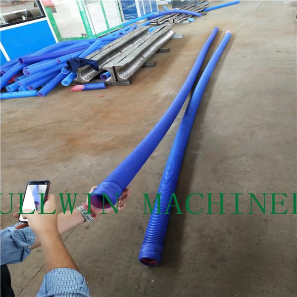 ventilation double wall corrugated pipe machine