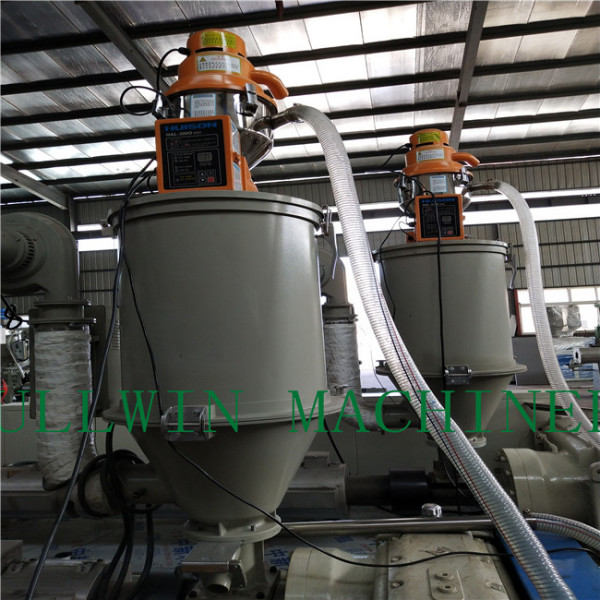 vent duct double wall corrugated pipe machine