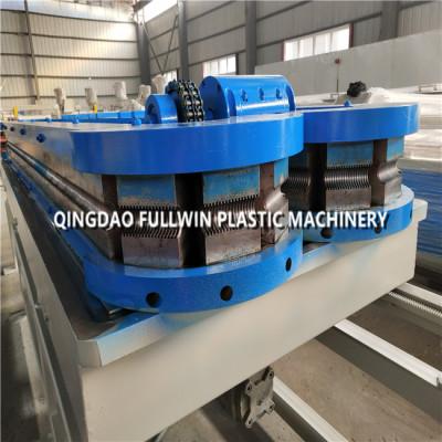 2019 FULLWIN high speed PE Double Wall Corrugated Pipe Extrusion Line