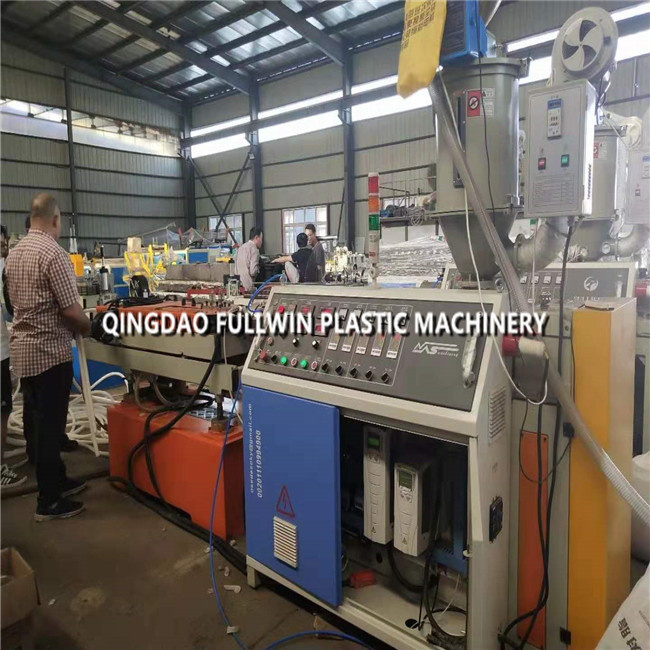 SWC Corrugated pipe machine