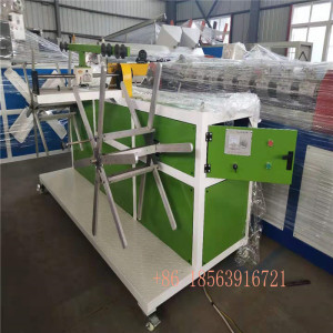high speed singel wall corrugated pipe extrusion line 9mim