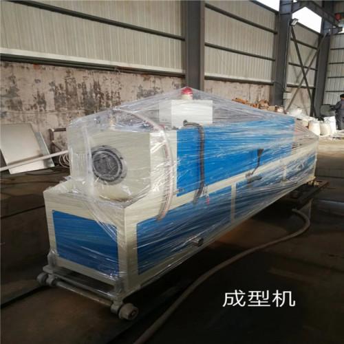 50-300MM HDPE spiral corrugated conduit pipe making machine