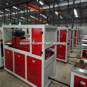 wpc pe wooden profile machine extrusion line with mold