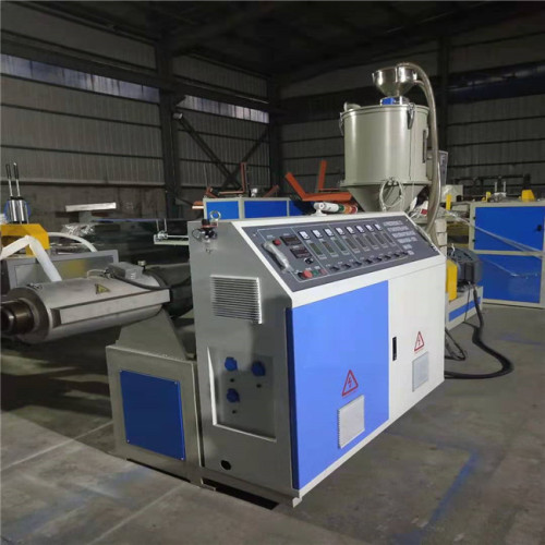 continue Spiral surface plastic corrugated ducts hose making machine