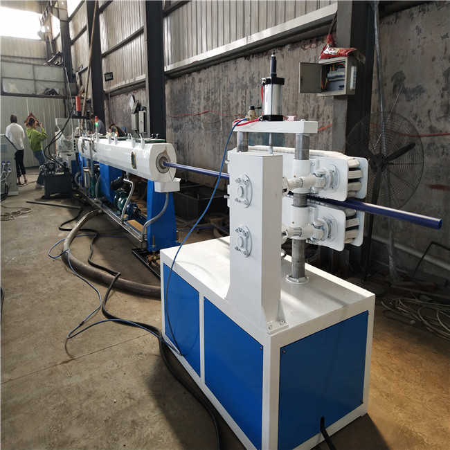 PE smooth pipe machine