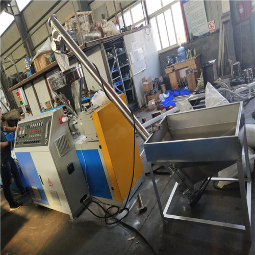 fullwin high speed PVC Single Wall Corrugated Pipe Making Machinery with Steel Wire