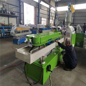 high speed singel wall corrugated pipe extrusion line