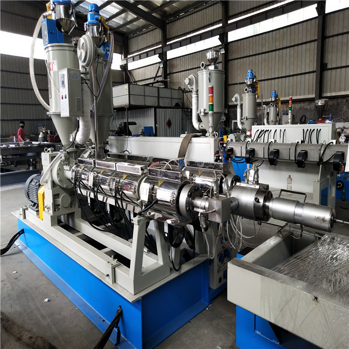 110mm-315mm double wall corrugated pipe machine