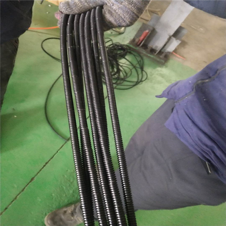 how much diameter can make for small dia corrugated pipe machine