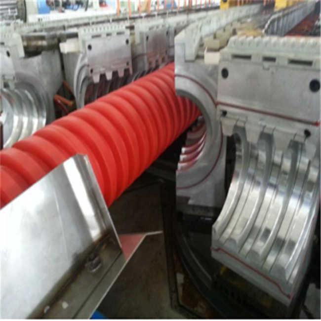 OD315,mm double wall corrugator pipe making machine