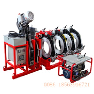 Polyethylene hdpe pipe fitting Butt Welding Machine