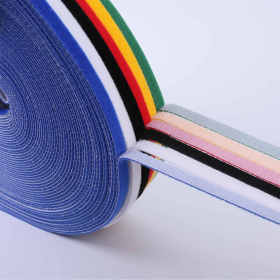 Long life Strong Pull Multicolor Back to Back Ultra Thin Hook and Loop Band