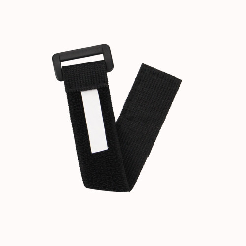Adjustable Elastic Fabric Wrap with Hook and Loop Closure Cable Tie for Luggage Straps