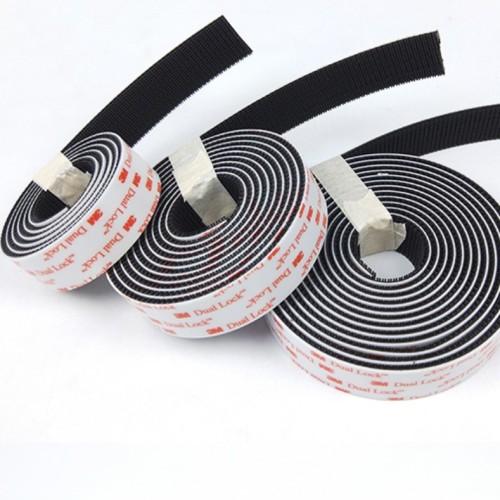 Hot Selling Double Sided Die Cutting 3M Adhesive Hook and Loop Dual Lock Mushroom