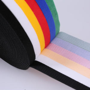 5 colours adjustable back to back micro hook and fabric loop closure
