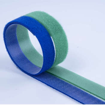 Nylon self adhesive back to back injection hook and loop fabric
