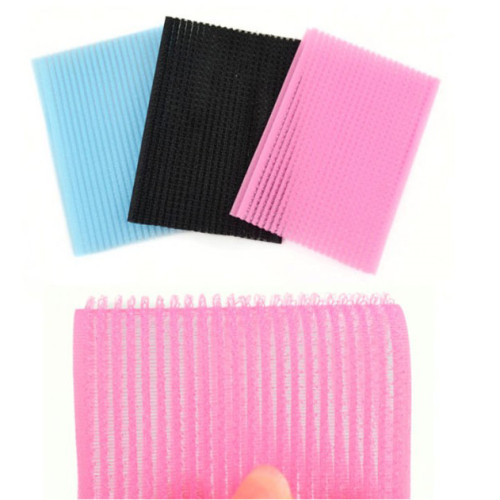 Customized Shapes/colours Women micro hair grippers Rollers Hook and Loop