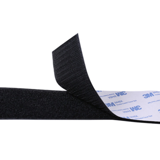 High quality heat resistance 3M adhesive hook and loop tape