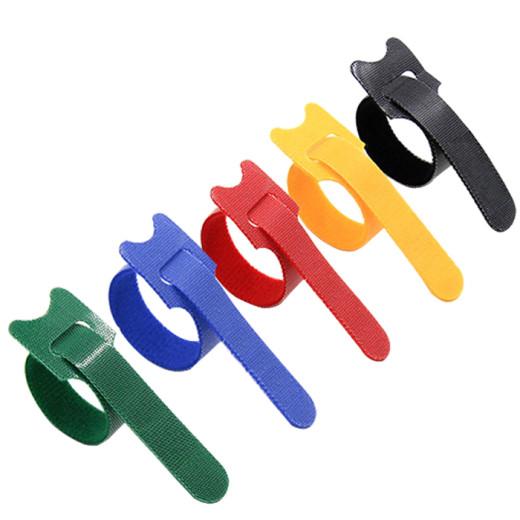 Advantage of hook and loop fastener