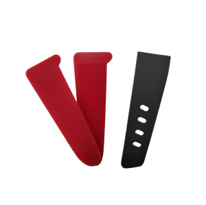 Best selling hook and loop sleeve tab with Plastic Injected Hook/Molded Hook for jacket cuff