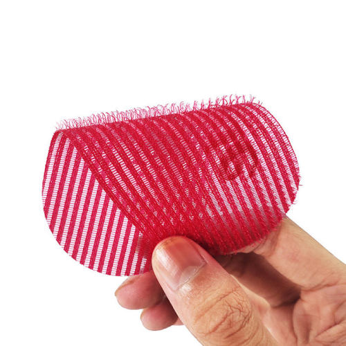 Wholesale Nylon Magic Tape Custom Shape Colorful Hair Clip Grippers for Beautify