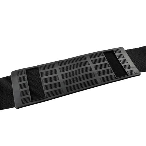 Custom logo Adjustable Nylon Webbing Hook and Loop Fishing Rod Shoulder Carrier Belt Strap