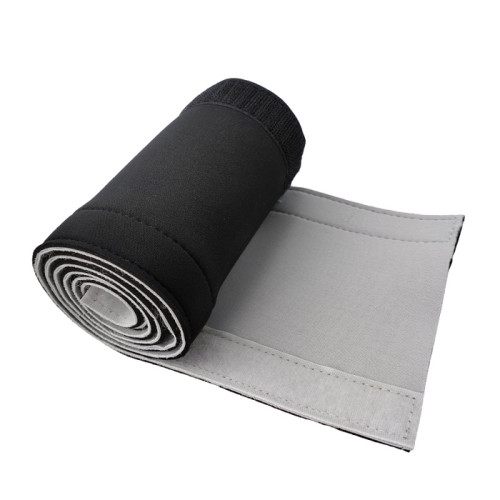 office/home use waterproof adjustable soft neoprene cable sleeve with hook and loop