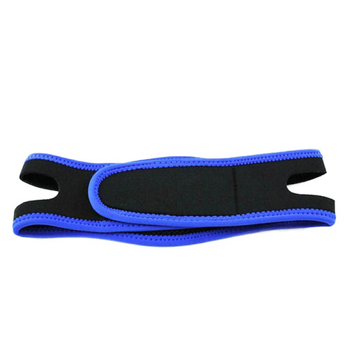 Eco-friendly adjustable anti snore chin belt support strap band with hook and loop
