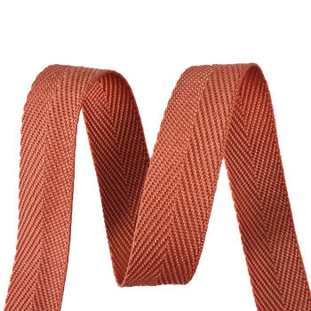 Multicolors Soft Comfortable Herringbone Pattern Garment Bag PP Webbing Strap Tape