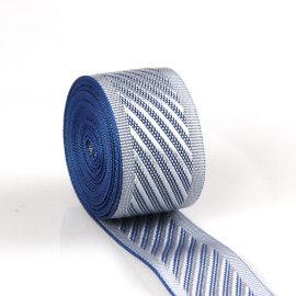 Custom Silver Polyester Nylon Garment Colourful Printed Mattress Webbing