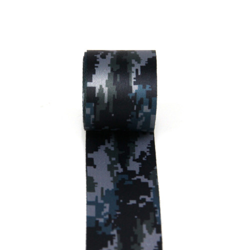 Heavy Duty Soft and Comfortable Pattern Nylon Thermal Transfer Camouflage Webbing Logo