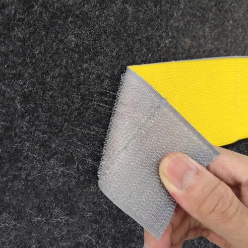 Multi color High Tenacity Sewing Processed soft Elastic webbing Car Trunk Hook and Loop Strap