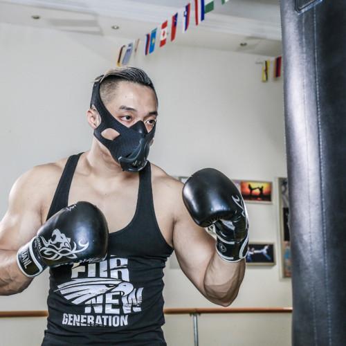 6 Adjusting Breathing Levels High Altitude Sports Oxygen Training Mask Fitness