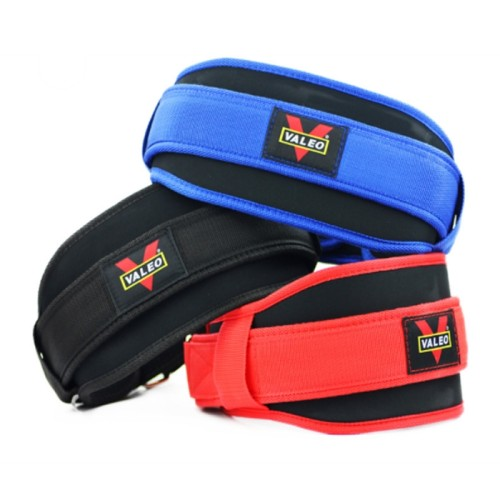 Custom Comfortable Fitness Exercise Adjustable Neoprene Weight Lifting Belt Buckle