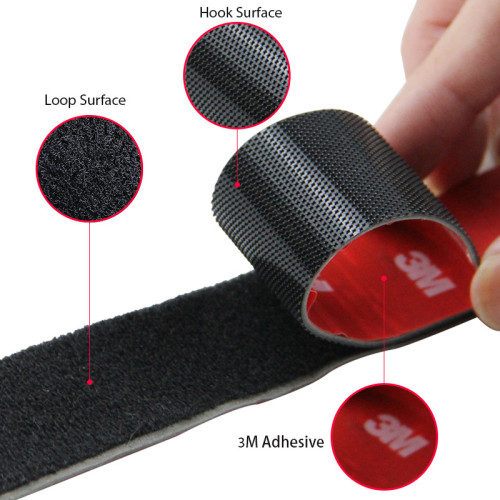 Multipurpose Heat Resistance Strong Occlusion Back Glue Nylon 3M 4229P Adhesive Hook And Loop