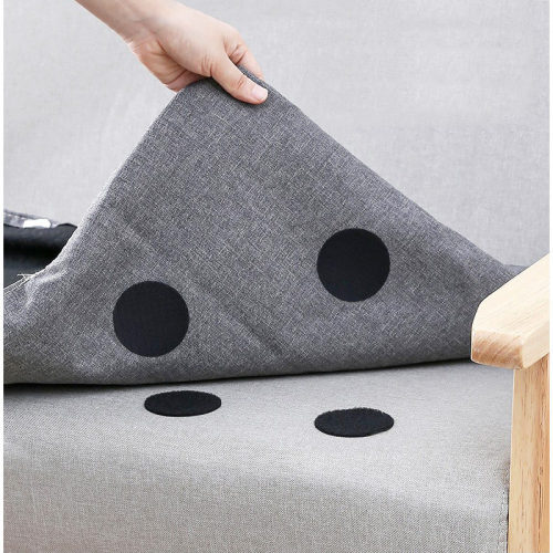 Sofa Cushions Sheets Household Carpets Firmly Bonded Self-Adhesive Oversized Hook And Loop Dots