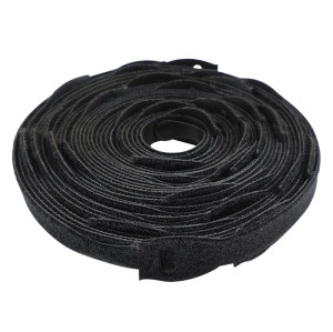 Nylon Mix Polyester Home Office Wires Management Use Eco Friendly Self Locking Back To Back Cable Ties