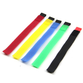 Colored Adjustable Reusable Computer Wire Cable Tie Hook And Loop Fasteners Suppliers