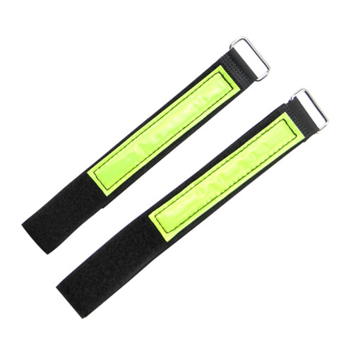 Professional Adjustable Nylon Reusable Wire Wrap Hook And Loop Cable Tie With Metal Buckle