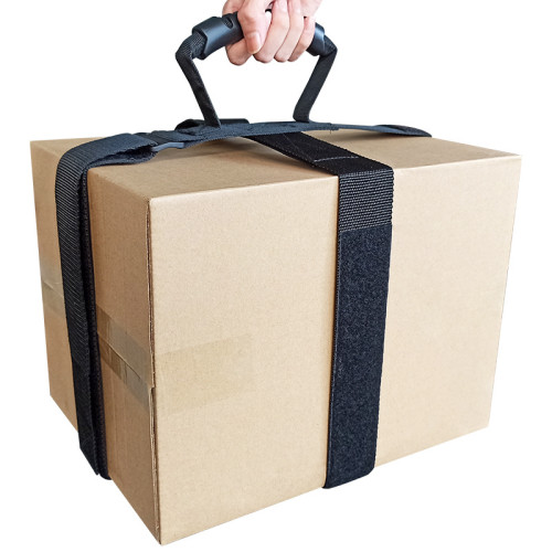 Soft And Durable Material Storage Strap Suitcase Strap With High Quality Plastic Handle for Carry Box