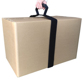 New Product Durable Self-Adhesive Portable Storage Strap Suitcase Strap with Carry Handle for Goods