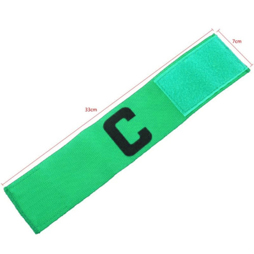 Good quality Hook and Loop Closure Adjustable Elastic Captain Armband for Sport Game