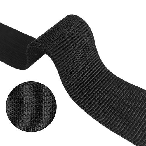 Multi Colors 20mm Custom Backpack Pit Grain Polypropylene PP Black Webbing for Bag Garment