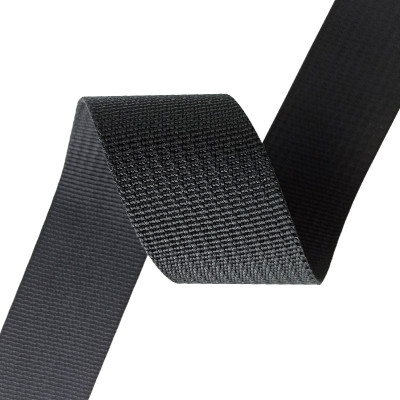 Factory Direct Sale Custom Comfortable 1.2mm Thickness Nylon Little Pit Grain Webbing