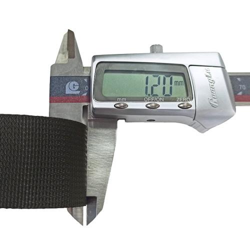 Factory Direct Sale Custom Comfortable 1.2mm Thickness Nylon Little Pit Grain Webbing